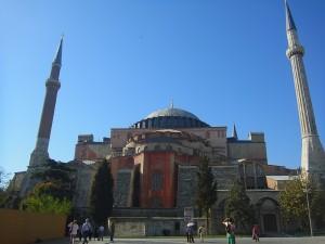 Die Hagia Sophia von draussen