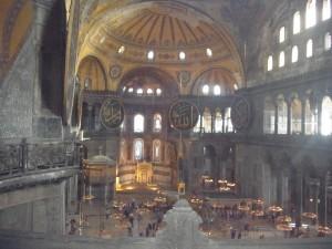 Die Hagia Sophia von innen