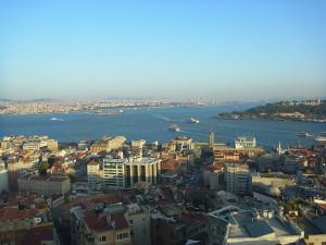 Wo sich Bosporus und Goldenes Horn treffen