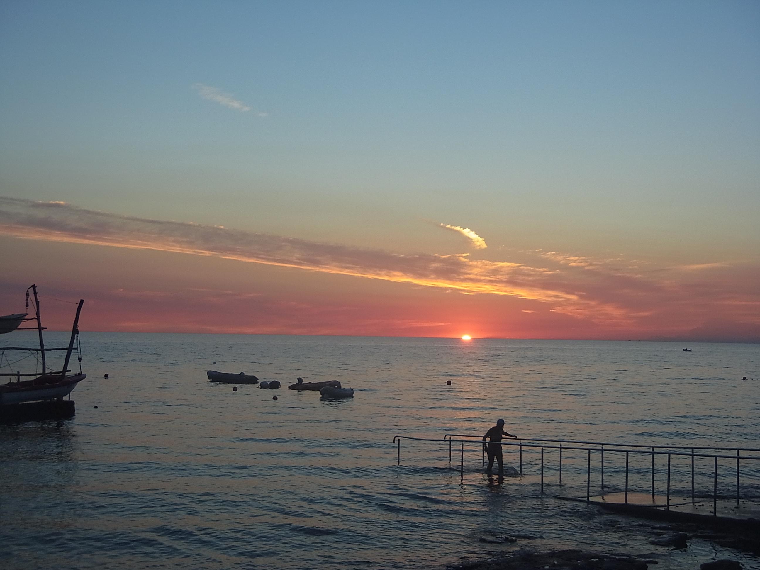 Sonnenuntergang am Kap
