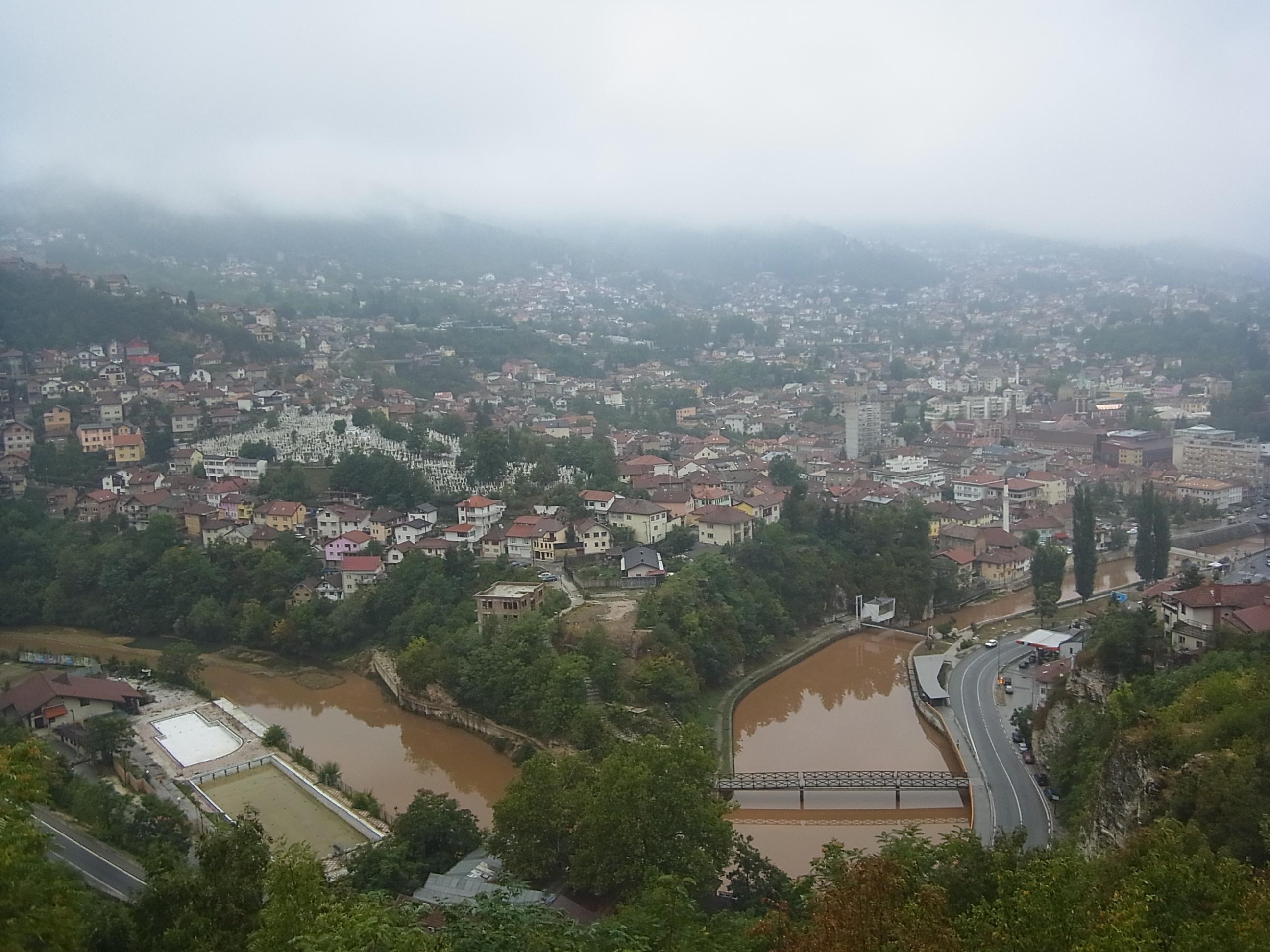 Aussicht 2: Von einem Hügel