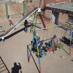 Spielplatz in der Minenstadt