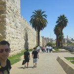 Stadtmauer Jerusalem