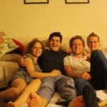 mit Bea und Gonzalo