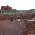 Faxen in einer Ruinenstadt auf dem Weg nach Prescott